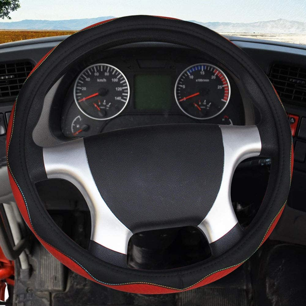 Wyld Lenkradbezug Für Lkw Auto Lkw Universalgröße 42 50 Cm Scania R P Und S Serie 42 Cm Sport Freizeit