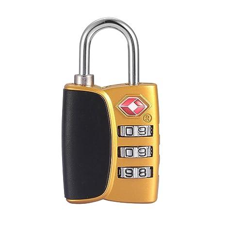 fff7d8319 bakuwe (cierres TSA, bloqueo de equipaje para maleta bolsa de viaje y  mochila con