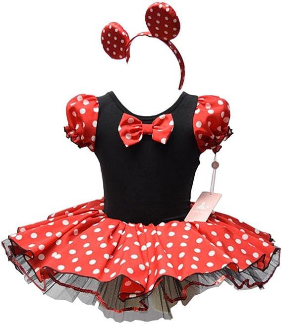 MOONIGHT – niño Disney Minnie Mickey Mouse Baile Vestido de ...
