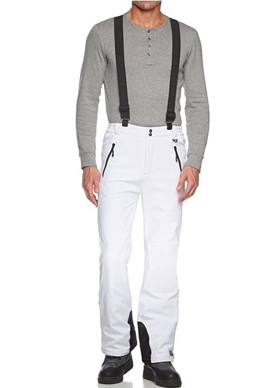 Killtec Calik, Pantaloni da neve in softshell con ghette paraneve, modello speciale per Gora Sport