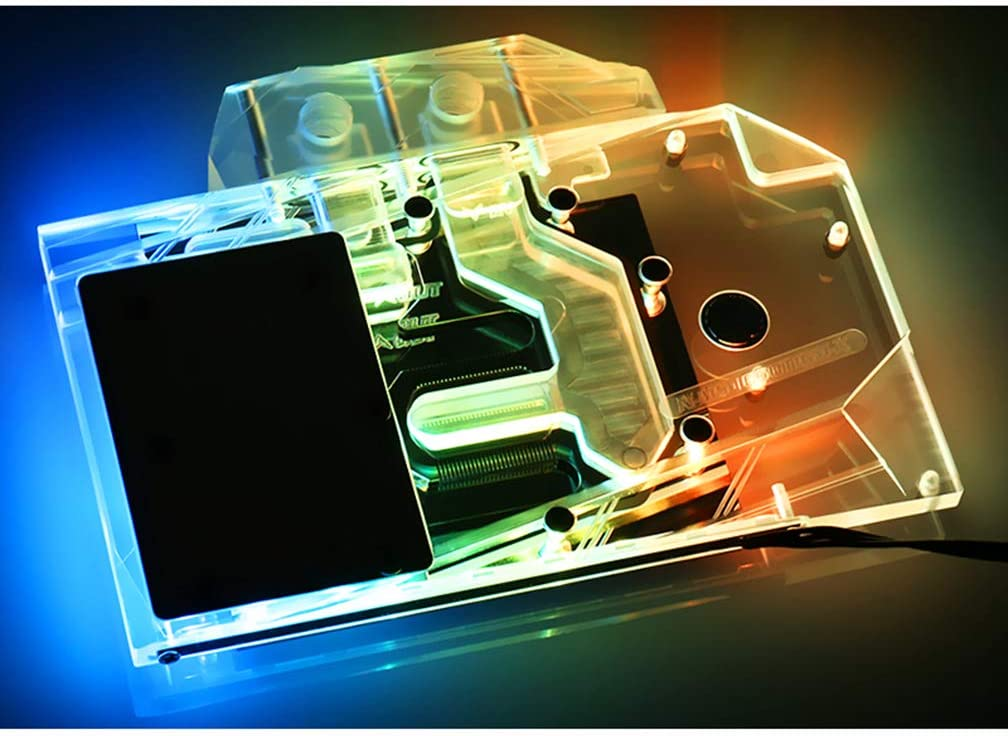 Amazon.com: Bykski GPU enfriador líquido de cobre bloque de ...