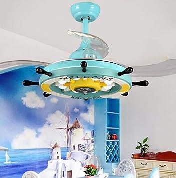 Amazon.com: ChuanHan - Lámpara de techo con ventilador de ...