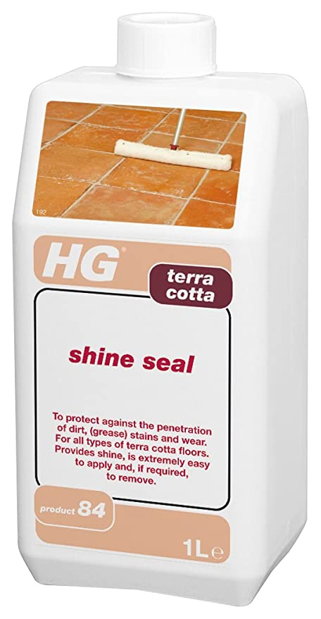 HG - Junta de Terracota Brillante, 1 litro: Amazon.es: Hogar