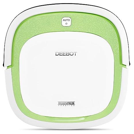 Ecovacs DEEBOT SLIM aspiradora robotizada Bolsa para el polvo Verde, Blanco 0,32 L - Aspiradoras robotizadas (Bolsa para el polvo, Verde, Blanco, ...