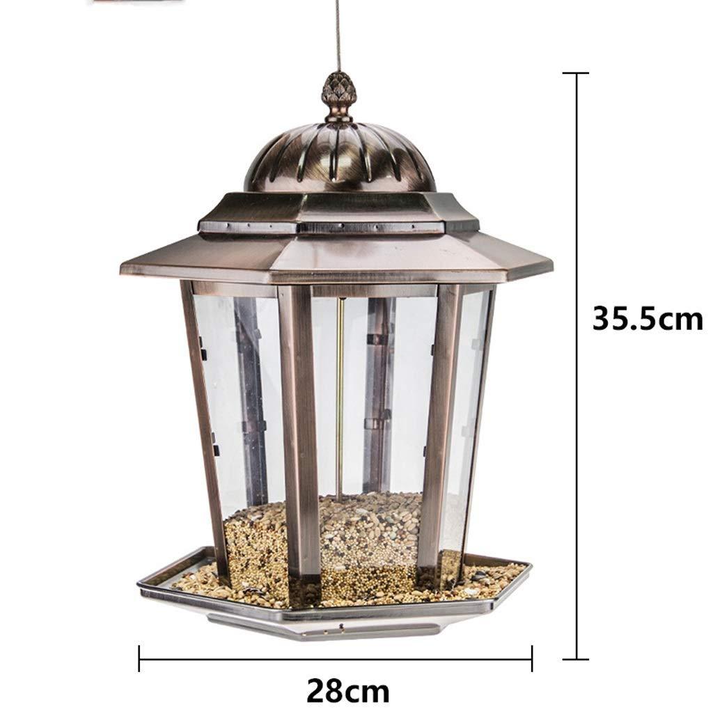 LSXLSD Outdoor Bird Feeder Bird Food Bird Feed Supplies, Suitable For Outdoor, Balcony, Garden, Park