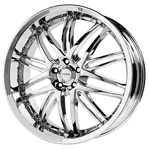 Verde Custom Wheels Kaos Chrome Wheel (18x8''/5x115 mm)