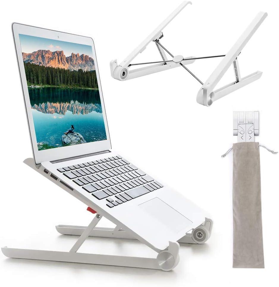 G-Color Laptop Stand / Soporte / Stand Portátil y Ergonómico para Laptop, Plegable y Ajustable Soporte para Computadora/ Ordenador Portátil, iPad