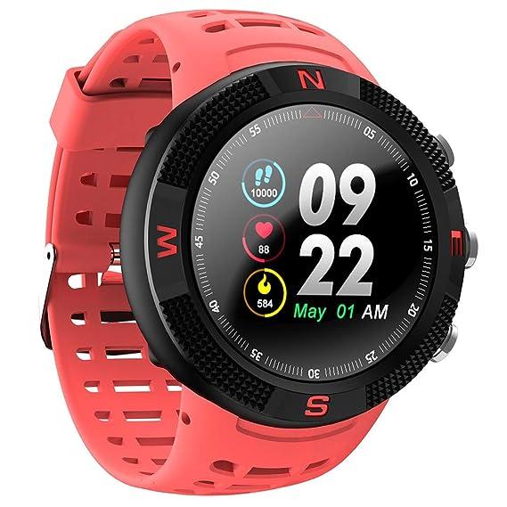 WTTDHK Reloj Inteligente GPS Impermeable Reloj Inteligente ...