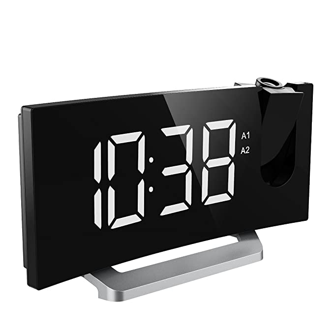Mpow Projection Clock - The Ultra-Clear and Sleek Design