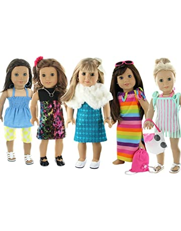 Doll Club of America 28 Piece Holiday Lot Fits 18-Inch American Girl Doll  Clothes 1883f6371dc4