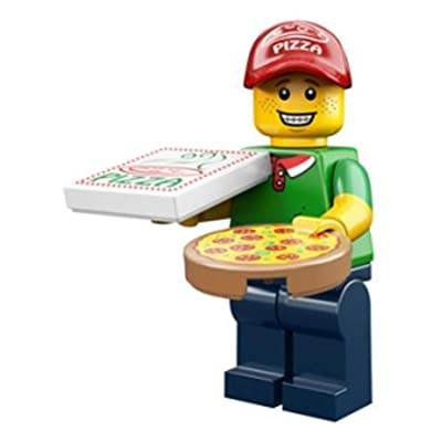 LEGO Series 12 Collectible Minifigure 71007 - Pizza Delivery Guy: Toys & Games