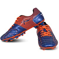 Vector X Breeze Football Shoes (Blue-Orange)