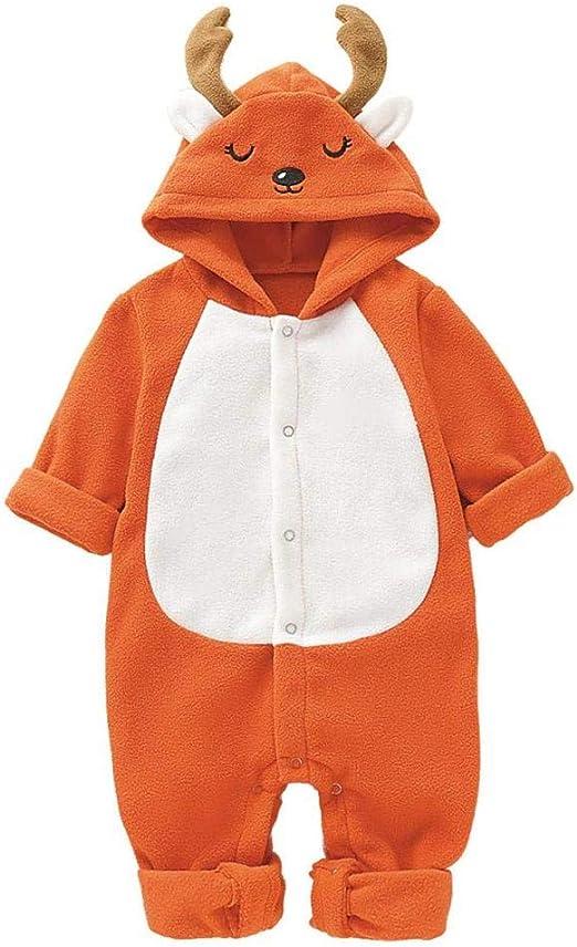 BO LU Disfraz de Ciervo para niñas y niños, 100: Amazon.es: Hogar
