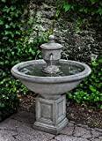 Campania International FT-254-VE Rochefort Fountain, Verde Finish For Sale