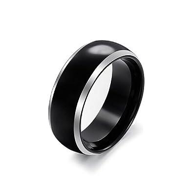 Weidan Jewelry Fashion Sportsman Tungsten Steel Wedding Bands Ring MensTungsten Gold Rings