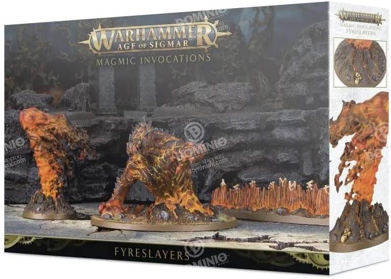 Age Of Sigmar Citadel Fyreslayers Magmic Invocations Warhammer
