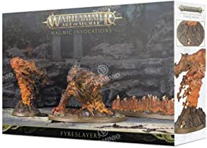 Games Workshop Warhammer Age of Sigmar: Fyreslayers Magmic Invocations