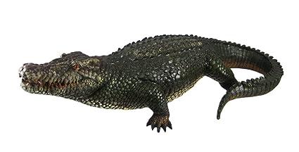 21 Inch Alligator Statue Gator Garden Outdoor Figure