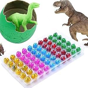 Eshion Dinosaur Dino Eggs Add Water Magic lovely Children Toy 60PCS Dinosaur Eggs