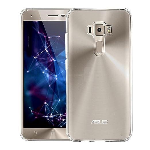 "39 opinioni per Custodia ASUS ZenFone 3 5.2"" (ZE520KL), KKtick Cover ASUS ZenFone 3 Silicone"