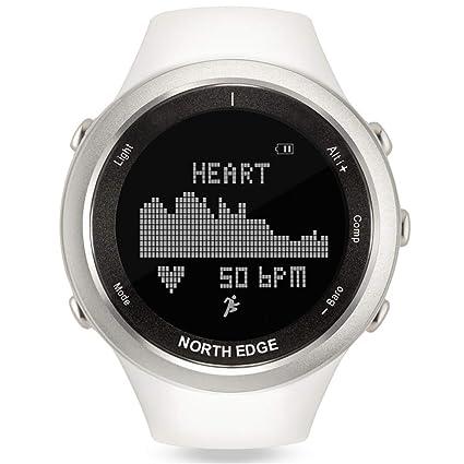 Smartwatches Reloj Deportivo para Mujer Relojes Inteligentes Blancos para Mujer Deportes para Correr al Aire Libre