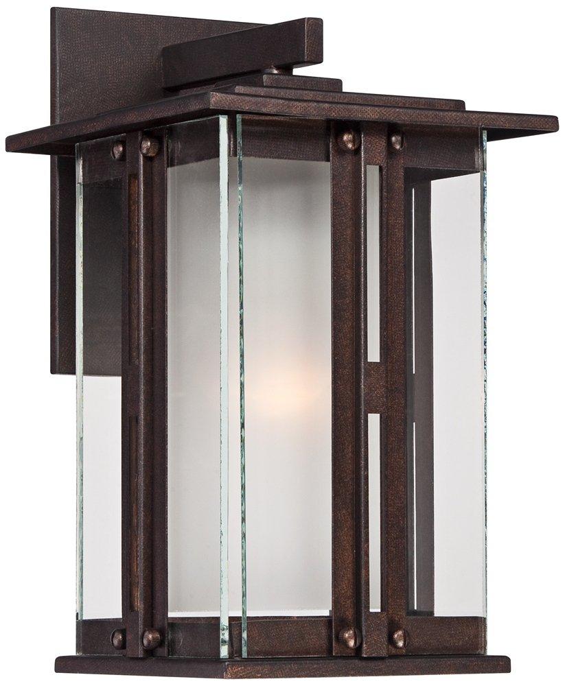 Fallbrook Collection 11 3/4'' High Bronze Outdoor Wall Light