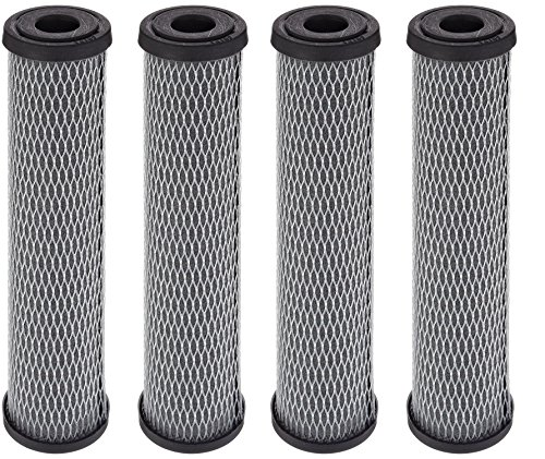 (Pentek C1 Carbon Filter Cartridge, 9-3/4 x 2-1/2, 5 Micron (4, 1)