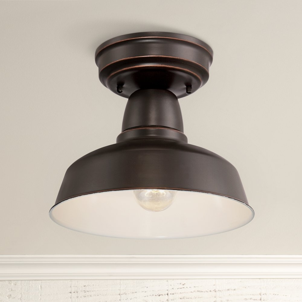 Urban barn collection 10 14w bronze outdoor ceiling light urban barn collection 10 14w bronze outdoor ceiling light amazon aloadofball Image collections