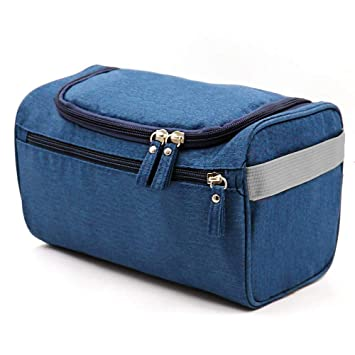 1c2b625bb2f6 Amazon.com   CN-Culture Hanging Travel Toiletry Bag Waterproof Zip  Organizer Cosmetic Makeup Shower Bag With Large Compartment for Men Women  for Trip ...