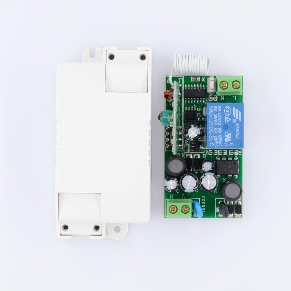 Lejin AC 110V 220V Fernbedienung Licht Schalter: Amazon.de: Elektronik