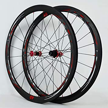 DL Rueda de aleación Apertura 40/55MM llanta de Doble Pared rodamiento Sellado para Bicicleta de Carretera Ultra-Ligeras: Amazon.es: Deportes y aire libre