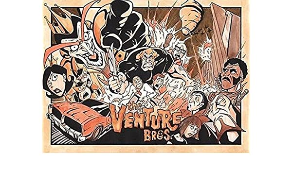 """The Venture Brothers 24/""""x36/"""" poster print"""
