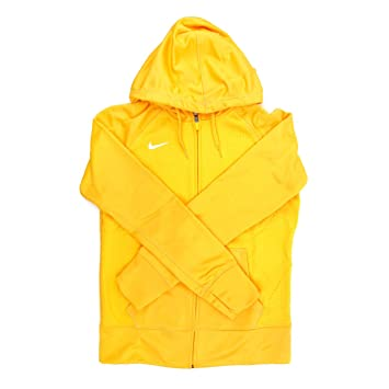Nike NIKE893163 Therma-fit Women s Yellow Full Zip Training Hoodie-2X  Large 5219a51846bb
