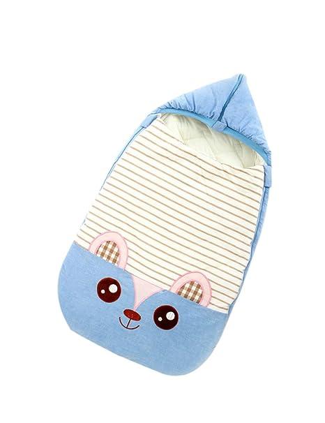Recién Nacido Envolviendo Bebé Saco de Dormir Infantil Paseante Bolsa de Dormir Sobre Calentar Algodón Manta
