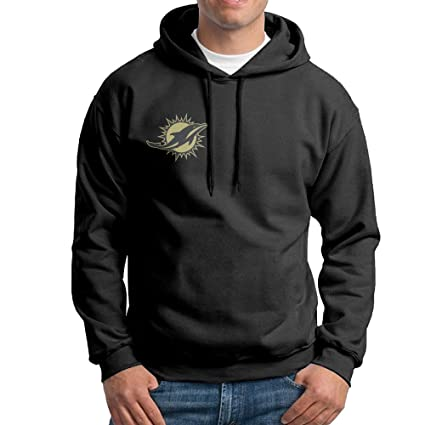 separation shoes 26d20 24a5d CopperThera Men's Miami Dolphin Salute to Service-01-01 Pullover Hoodie