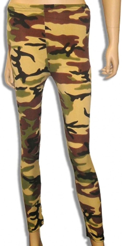 Children Girls Kids Casual Stretch Slim Fit Leggings High Waist Printed Pants