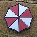 Umbrella Corporation Resident Evil PVC Rubber Tactical Airsoft Morale Patch - Hook Backed by NEO Tactical Gear
