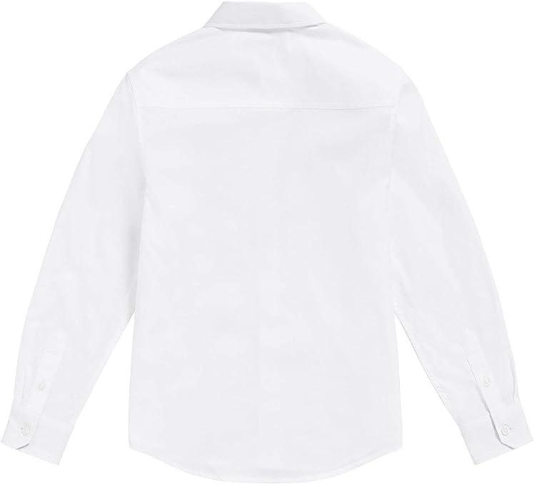 Camisa - para niño Blanco (16 años / 174 cm.): Amazon.es: Ropa y accesorios