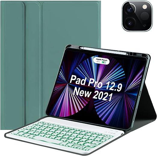 New Keyboard Case for iPad Pro 12.9 2021 5th Genetation ...