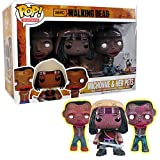 Previews Exclusive Walking Dead Michonne & Pet Zombies Pop! Vinyl Figure Set