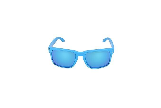 f75ef57f629 Oakley Sunglasses Holbrook OO9102-73 Matte Sky Sapphire Iridium  Amazon.ca   Clothing   Accessories