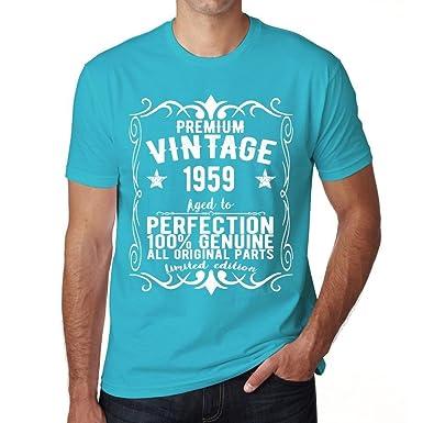 One in the City 1959 Camiseta Azul cumpleaños Camisetas ...