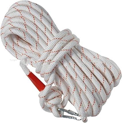 EVFIT Cuerda Exterior Escalada de Cuerda de 20 Metros al Aire ...