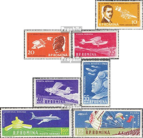 Romania 1861-1867 (complete.issue.) 1960 First Flight (Stamps for collectors)