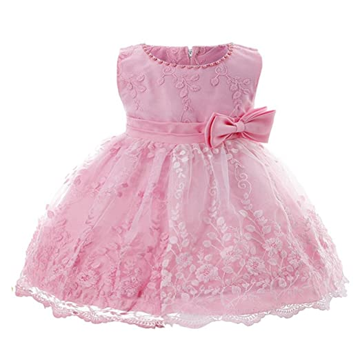 1745126930a6 Amazon.com  KONFA Toddler Baby Girls Flowers Princess Bridesmaid ...