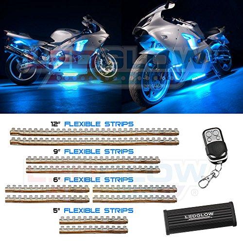 LEDGlow 10pc Flexible Motorcycle Light product image