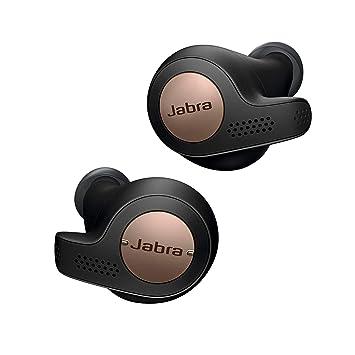 Jabra Elite 65e auriculares estéreo neckband inalámbricos con Bluetooth® 5.0, ANC y Alexa integrada, negro y cobre: Amazon.es: Electrónica