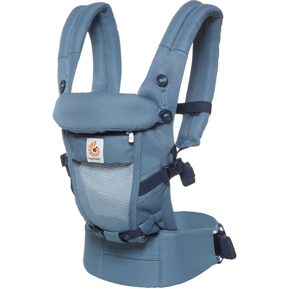 Ergobaby Babytrage Performance Adapt - Cool Air, Farbe:MeshOxford Blue