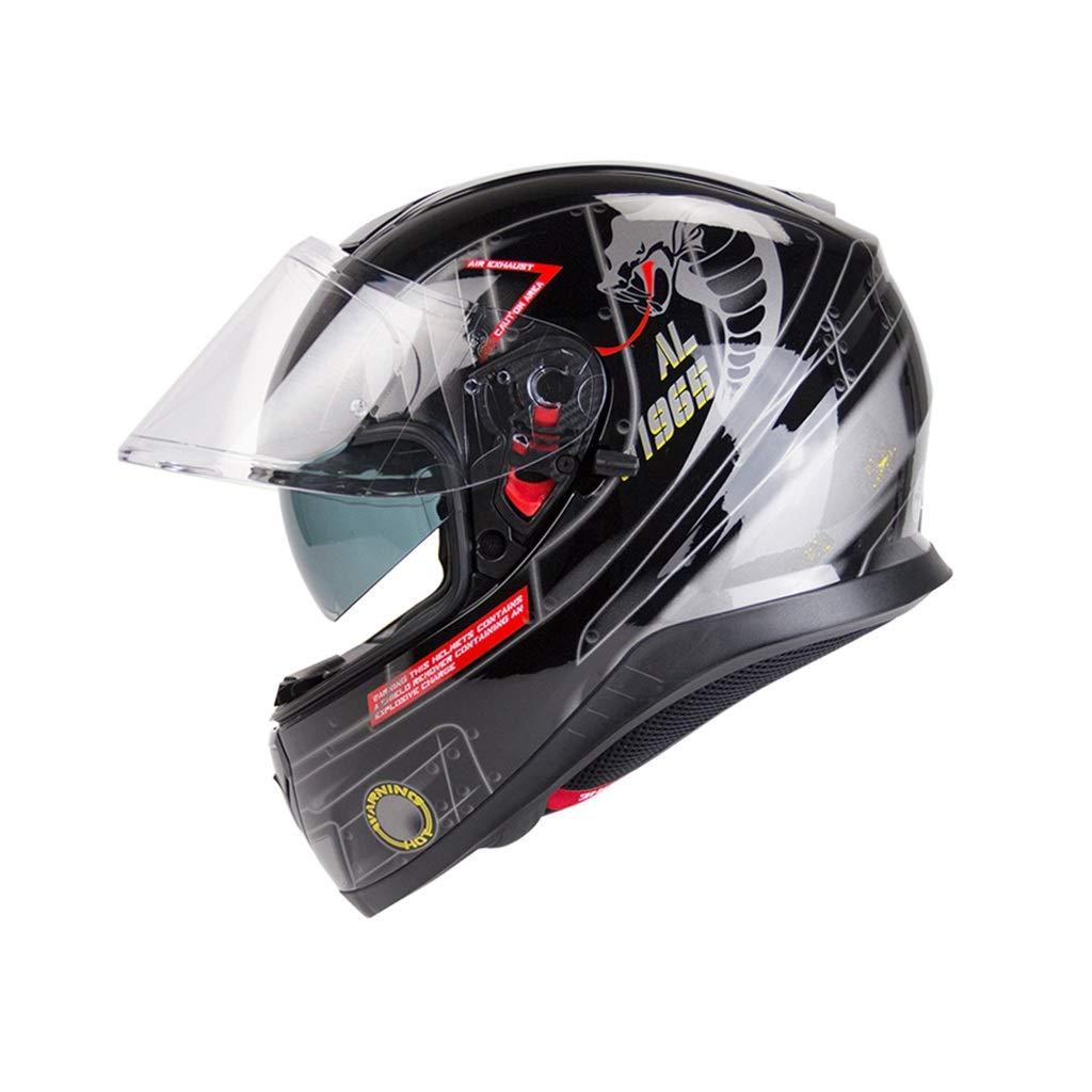 スーパーセール期間限定 オートバイヘルメット、屋外フルフェイスヘルメットダブルレンズメンズ女性全般サイクリング安全キャップペダル電気自動車 B07PTQYKDX B07PTQYKDX Cobra Cobra XL XL, Ys factory:83037b17 --- a0267596.xsph.ru