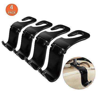 Home Improvement Convenient Double Vehicle Hangers Auto Car Seat Headrest Bag Hook Holder New High Resilience Bathroom Fixtures Honest Promotion